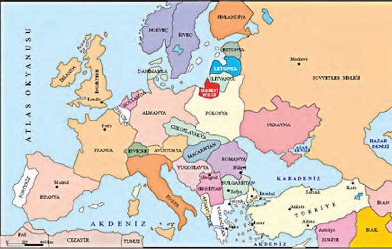 1. Dünya Savaşı Sonucunda İmzalanan Antlaşmalar