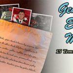 """GSB'den Laptop ve Akıllı Telefon Hediyeli """"Gençlerden Ecdada Mektup 15 Temmuz Şehitlerine"""" Yarışması"""