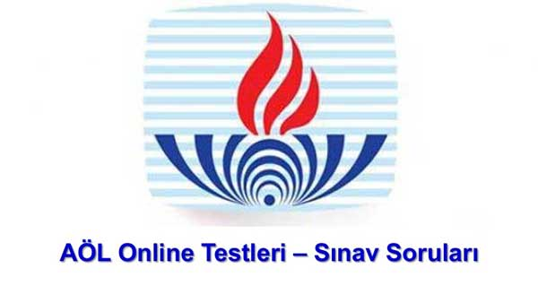 AÖL Online Testleri