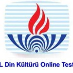 Din Kültürü ve Ahlak Bilgisi 1 Test: 1