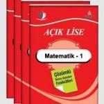 Açık Lise Matematik 1 Online Testleri Test: 1