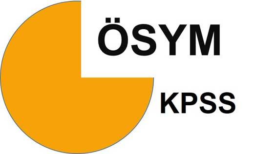 2016 KPSS Uygulanacak Testlerin Kapsamları ve Konu Dağılımları