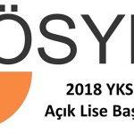 ÖSYM'den 2018 YKS'ye başvuracak Açık Liseliler için açıklama var!