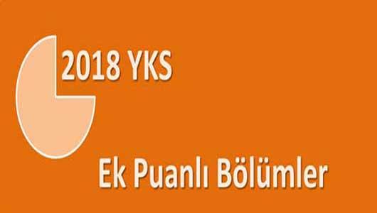 MAÖL ve AÖİHL için 2018 Ek Puanlı Lisans ve Ön Lisans Bölümleri