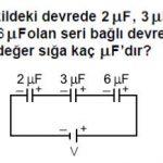Açık Lise Fizik 6 Online Test 1
