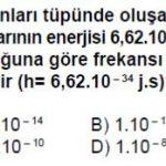 Açık Lise Fizik 8 Online Test 1