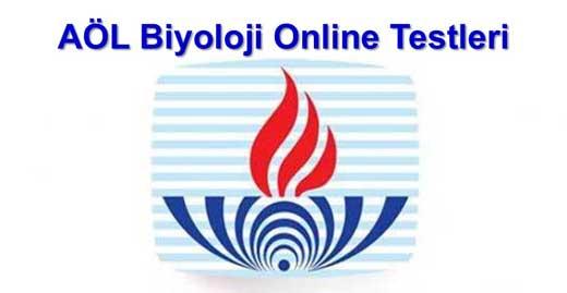 AÖL Online Biyoloji Testleri