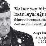 Aliya İzzetbegoviç Kimdir?