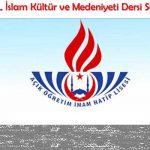 AÖİHL İslam Kültür ve Medeniyeti 2 Testi 2