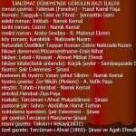 Türk Edebiyatında İlkler