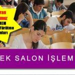 7-8 Temmuz 2018 tarihli Açık Lise 3. dönem sınavları için yedek sınav salonu başvuru ve işlemleri