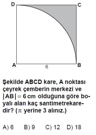 Açık Lise Matematik 4 Online Test 1