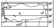 Harita üzerinde uzunluk hesaplama