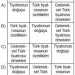 Açık Lise Dil ve Anlatım2 Online Testleri 7