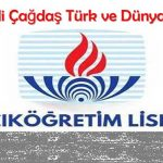 Açık Lise Seçmeli Çağdaş Türk ve Dünya Tarihi 1 Test 8