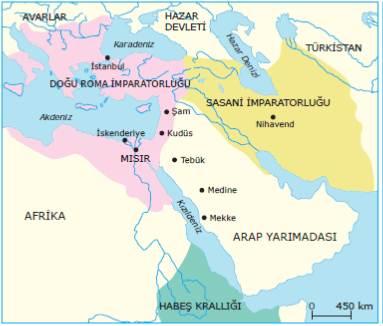 İslamiyet'in ilk yıllarında Dünya ve Arap Yarımadası