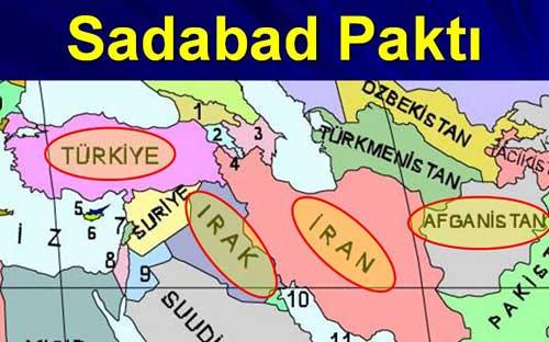 Sadabat Paktı 8 Temmuz 1937