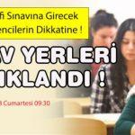 21 Nisan 2018 Telafi Sınavı sınav giriş yerleri açıklandı