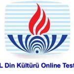 Din Kültürü ve Ahlak Bilgisi 4 Online Test 1