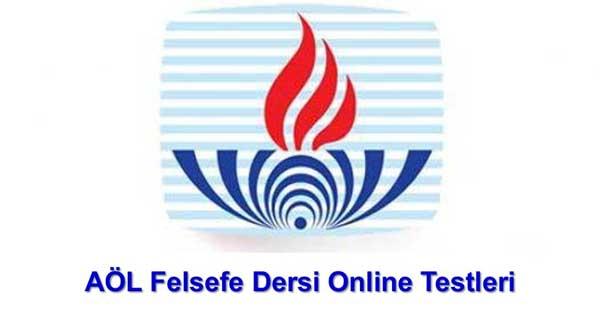 Açık Lise Felsefe 1 Online Testleri 5