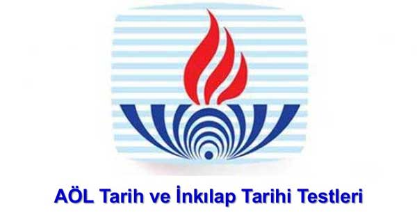 Açık Lise (142) T.C. İnkılap Tarihi ve Atatürkçülük 2 Test 7 (Nisan 2018)