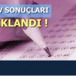 2018 / 4 EK Sınav Sonuçları Açıklandı