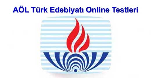 Açık Lise Türk Edebiyatı 8 Online Test 11
