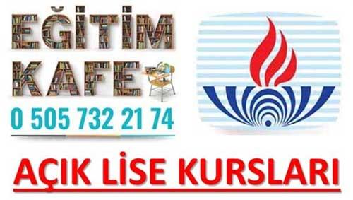 Açık Lise Kursu Ankara Ön Kayıt Formu