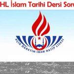 AOİHL İslam Tarihi Çıkmış Sınav Soruları