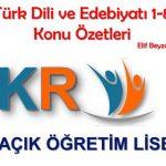 Türk Dili ve Edebiyatı 7 Konu Anlatımı
