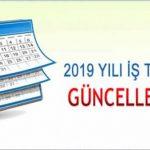 Açık Lise 2018 2019 İş Takvimi