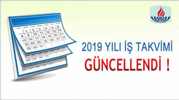 Açık Lise İş Takvimi 2018 2019