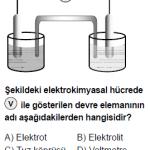 Açık Öğretim Lisesi Seçmeli Kimya 3 Test 2