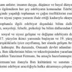 AÖL Türk Edebiyatı 5 Konu Anlatımı: Edebiyat, Sosyal ve Siyasi Hayat İlişkisi