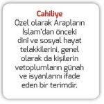 Açık Öğretim Lisesi Hz. Muhammed'in Hayatı 2 Online Testi 5