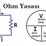 Ohm kanunu nedir? Voltaj, akım, direnç ilişkisi nasıldır?