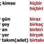 Türkçenin 40 hap bilgisi