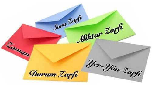 Zarf nedir, zarfların çeşitleri nelerdir?